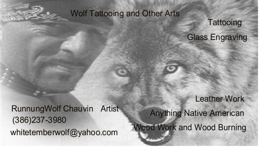 Wolf Tattooing and Other Arts