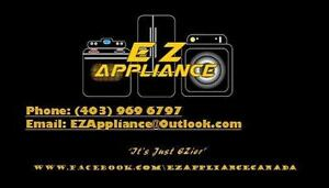 EZ APPLIANCE SAME DAY APPLIANCE REMOVAL! $50.00. CALL/TEXT 403-969-6797