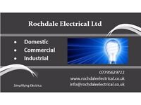 FULLY QUALIFIED ELECTRICIAN - ROCHDALE - OLDHAM - MIDDLETON - BURY - MANCHESTER - SHAW - MILNROW