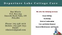 Departure Lake Cottage Care