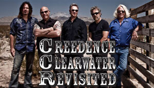 Creedence Clearwater Revisited Saturday March 9th @ 9:00pm