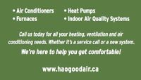 Heating, air conditioning