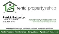 Rental Property Rehab - Handyman, Renovations, Carpentry