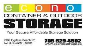 40 foot storage units for rent