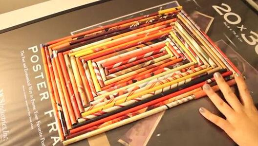 Diy recycled magazine art ebay for Diy magazine box