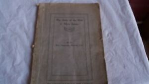 The Story of the Kirk of Nova Scotia--printed 1911 Pictou NS