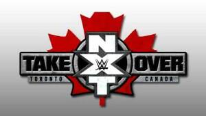 WWE NXT TAKEOVER: TORONTO Saturday August 10th@ 6:15pm @ Scotia