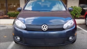 "I want: front Winter blocker (cover, ""bra"") for 2010 VW Golf."