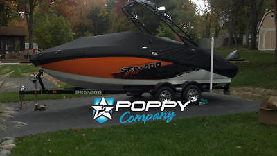 2011 2012 Challenger 210 Seadoo Sport Boat Cover New Black