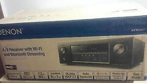 A/V Receiver with Wi-Fi and Bluetooth (NEW)