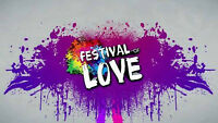 Festival of Love - Vendors Wanted