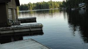 Lakeside Cabin - Motorboat, Sauna, Canoe, Hot Tub, BBQ More!