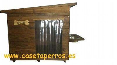 Casetas de madera para Perros - Colores para la Madera y Tejado a elegir