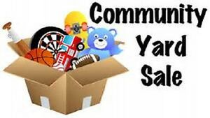 Community Yard Sale--River John--This Saturday!