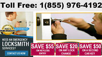 FAST SERVICE -Licensed Locksmith for home or office.