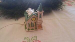 Vintage Ceramic Church