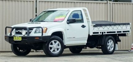 2009 Holden Colorado RC MY09 LX (4x4) White 5 Speed Manual Cab Chassis Lismore Lismore Area Preview