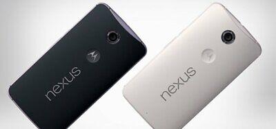 "*NEW SEALED*  AT&T T-MOB Motorola X Nexus 6 32/4G 5.97"" Smartphone/WHITE/64GB"