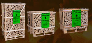 OUR CRATED SPLIT HARDWOOD FIREWOOD DRY $220 440-7250 DELIVERY EX