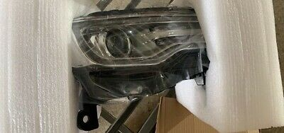 RIGHT, passenger side, 2014, 2015, JEEP GRAND CHEROKEE XENON CLEAR LENS HEADLAMP
