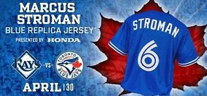BLUE JAYS SUNDAY APR 30th *8 rows behind jays dug out sec125*