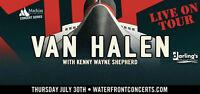 VAN HALEN (pair of tickets) - Bangor, Maine - July 30, 2015