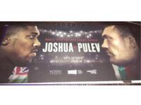 2x FLOOR tickets Anthony Joshua vs Carlos Takam (pulev)