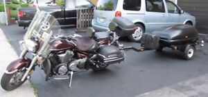 2008 Yamaha Vstar 1300 Tourer with Trailer