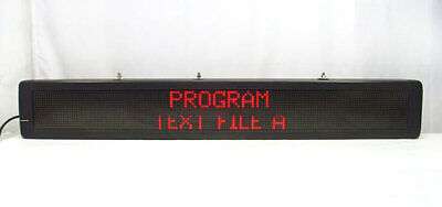 Lucent Alpha 4160c Led Programmable Sign Emc Electronic Message Center 4160c120