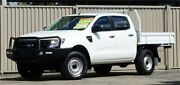 2013 Ford Ranger PX XL 3.2 (4x4) White 6 Speed Manual Dual Cab Chassis Lismore Lismore Area Preview