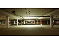Canary Wharf / secure underground car park