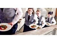 5* Event Casual Waiting Staff - up to £10ph