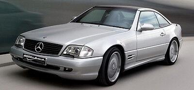 Mercedes Benz SL R129 Stoßstange AMG Styling II Look  Komplett Umbau