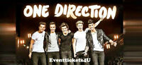 (2) ONE DIRECTION tickets 4 sale ~ Edmonton July 21 *LOWERS*