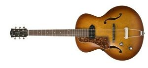 Godin Guitars 5th Avenue Kingpin Cognac Burst P90 Left-Handed 0