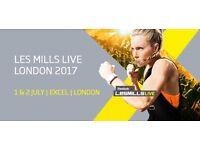 Les Mills Live LONDON Sat 1st July