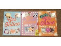 A trilogy of the 'Girl Online' books by the YouTuber Zoella. In almost brand-new condition.