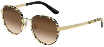 Dolce & Gabbana ETERNAL DG 2227J Gold Black/Brown Shaded (02/13 A) Sunglasses