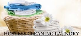 LAUNDRY SERVICES WITH COLLECTION AND DELIVERY!! WASH/ DRY/ PRESSED ALL IN ONE PRICE!!
