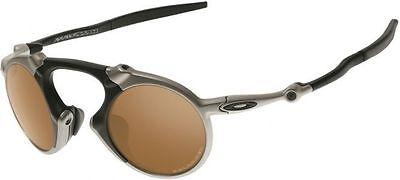 RARE Collectors OAKLEY MADMAN Polarized Plasma Tungsten Sunglasses OO 6019-03