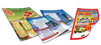 FLYERS & DOORHANGERS-PRINTED AND DISTRIBUTED!!