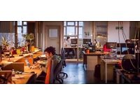☼ Co–working / Coworking / Desk Ideal for Start-ups, Freelancers ☕Free Tea, Coffee, Biscuits & Wifi