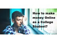 Learn 2 Ways How To Make Money Online As A Student?
