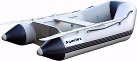 Aquafax Slatted Floor Inflatable Dinghy Boats AFX-S 2.5m- NEW