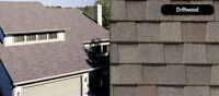 30 Bundles of Certainteed Shingles Colour Driftwood Installed