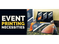 EVENT PRINTING | BANNERS | T-SHIRT PRINTING | LANYARDS | BUSINESS CARDS | FLYERS| EXIBITION PRINTING