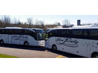 Competitive quotes for Luxury Executive Coach & Mini-Coach hire 16 - 70 seaters 1st Class Service**