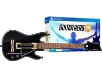 Guitar Hero Live + 2 Guitar Controllers PS4