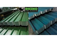 Box Profile Roofing Sheets - Galvanised Steel/Metal with Polyester or PVC Plastisol Coated Finish