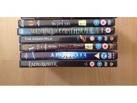 DVD FILMS JOB LOT